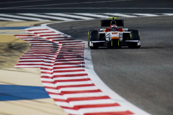 2017 FIA Formula 2 Round 1. Bahrain International Circuit, Sakhir, Bahrain.  Friday 14 April 2017. Stefano Coletti (MON, Campos Racing)  Photo: Zak Mauger/FIA Formula 2. ref: Digital Image _56I0067