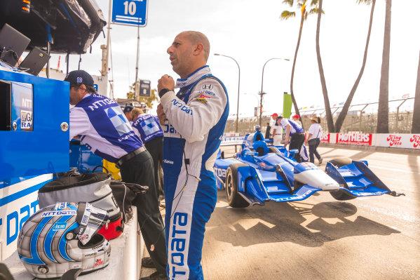 2017 Verizon IndyCar Series Toyota Grand Prix of Long Beach Streets of Long Beach, CA USA Friday 7 April 2017 Tony Kanaan World Copyright: Gavin Baker/LAT Images