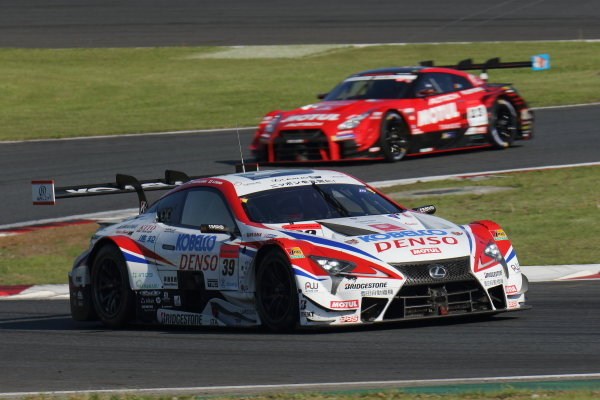 The second position duo of Heikki Kovalainen & Sho Tsuboi, Denso Kobelco SARD Lexus LC500.