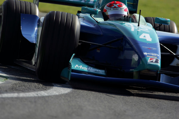 2005 GP2 Series - ImolaAutodromo Enzo e Dino Ferrari, Italy. 21st - 24th April.Friday PracticeAlexandre Negaro (BR, HiTech Piquet Racing). Action.Photo: GP2 Series Media Serviceref: Digital Image Only.