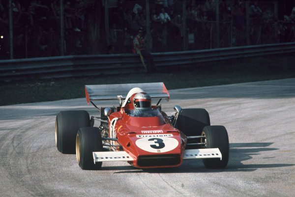 1972 Italian Grand Prix.  Monza, Italy. 8-10th September 1972.  Mario Andretti, Ferrari 312B2.  Ref: 72ITA61. World Copyright: LAT Photographic