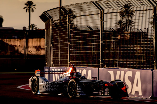 2016/2017 FIA Formula E Championship. Marrakesh ePrix, Circuit International Automobile Moulay El Hassan, Marrakesh, Morocco. Saturday 12 November 2016. Jerome D'Ambrosio (BEL), Dragon Racing, Spark-Penske, Penske 701-EV.  Photo: Zak Mauger/LAT/Formula E ref: Digital Image _X0W5356