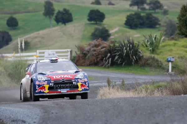 Round 7, Rally New Zealand, 21st-24th June 2012Sebastien Loeb, Citroen, Action.