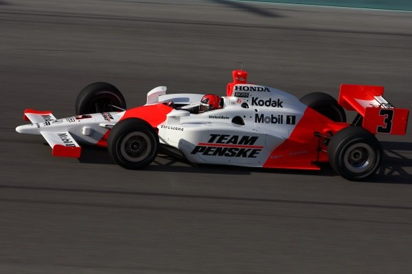 Helio Castroneves (BRA), Team Penske Dallara Honda.