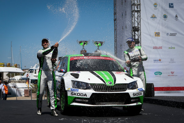 2017 FIA World Rally Championship, Round 07, Rally Italia Sardegna, June 8-11, 2017, Jan Kopecky, Skoda, podium Worldwide Copyright: McKlein/LAT