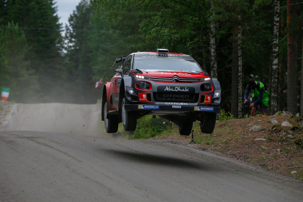 2017 FIA World Rally Championship, Round 09, Rally Finland / July 27 - 30, 2017, Craig Breen, Citroen WRC, Action Worldwide Copyright: McKlein/LAT