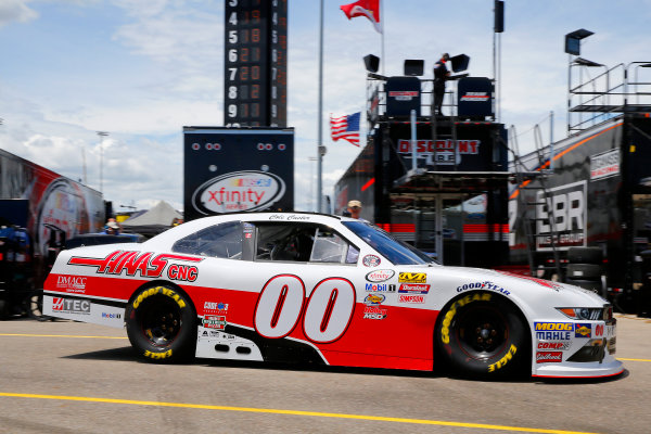 NASCAR XFINITY Series American Ethanol E15 250 presented by Enogen Iowa Speedway, Newton, IA USA Friday 23 June 2017 Cole Custer, Haas Automation Ford Mustang World Copyright: Russell LaBounty LAT Images
