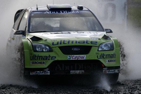 2007 FIA World Rally Champs. Round 11Rally New Zeland, 31st  August - 2nd  September 2007Mikko Hirvonen, Ford, actionWorld Copyright: McKlein/LAT