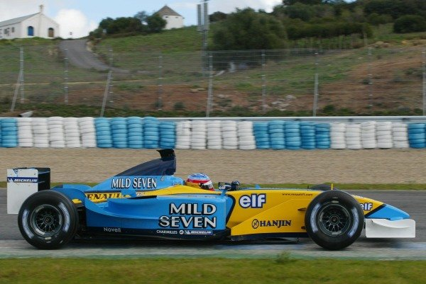 Fernando Alonso (ESP) Renault R02 