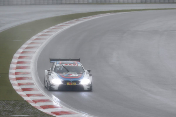 2017 DTM Round 7  Nürburgring, Germany  Friday 8 September 2017. Tom Blomqvist, BMW Team RBM, BMW M4 DTM  World Copyright: Alexander Trienitz/LAT Images ref: Digital Image 2017-DTM-Nrbg-AT2-1025