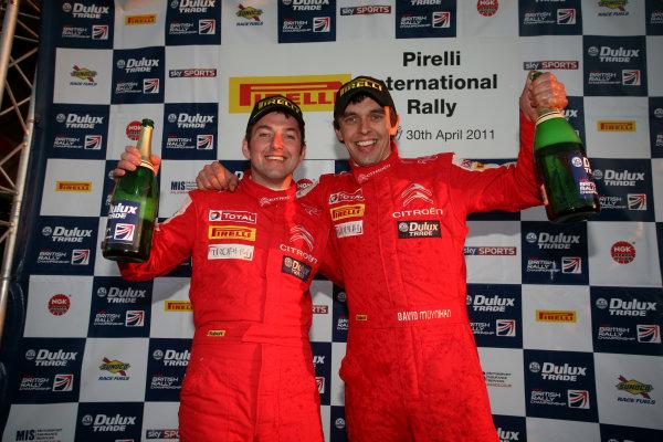 Pirelli International Rally. Carlisle, 30th April 2011.Martin McCormack/David Moynihan - Citroen DS3.World Copyright: Ebrey/LAT Photographic.