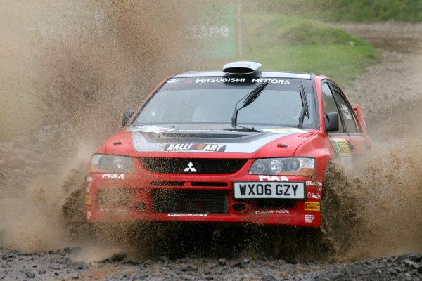 2006 British Rally Championship,Pirelli International Rally, Carlisle 13th-14th May 2006,David Higgins,World Copyright: Jakob Ebrey/LAT Photographic.