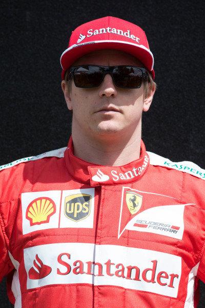 Kimi Raikkonen (FIN) Ferrari at Formula One World Championship, Rd1, Australian Grand Prix, Preparations, Albert Park, Melbourne, Australia, Thursday 12 March 2015.