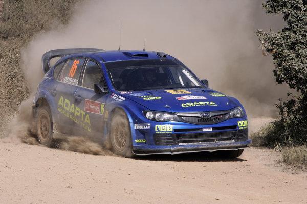 Round 04Rally Portugal 2- 5 of April 2009, Mads Ostberg, Subaru WRC, ActionWorldwide Copyright: McKlein/LAT
