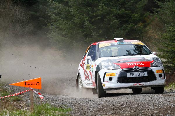 2013 MSA British Rally Championship, Pirelli Richard Burns Foundation Rally, Carlisle. 4th - 5th May 2013. John MacCrone / Phil Pugh Culina Palletforce Racing Citroen DS3. World Copyright: Ebrey / LAT Photographic.