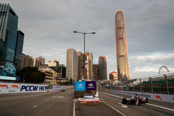 2017/2018 FIA Formula E Championship. Round 1 - Hong Kong, China. Saturday 02 December 2017. Edoardo Mortara (ITA) Venturi Formula E, Venturi VM200-FE-03. Photo: Sam Bloxham/LAT/Formula E ref: Digital Image _J6I3707