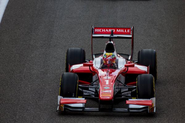 2017 FIA Formula 2 Round 11. Yas Marina Circuit, Abu Dhabi, United Arab Emirates. Sunday 26 November 2017. Charles Leclerc (MCO, PREMA Racing).  Photo: Zak Mauger/FIA Formula 2. ref: Digital Image _X0W9742