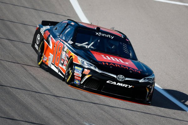 NASCAR XFINITY Series Kansas Lottery 300 Kansas Speedway, Kansas City, KS USA Friday 20 October 2017 Christopher Bell, JBL Toyota Camry World Copyright: Barry Cantrell LAT Images