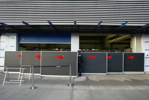 McLaren keep any new parts well hidden.