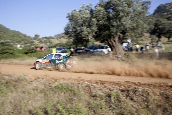2007 FIA World Rally ChampionshipRound 8Acropolis Rally of Greece31/5-3/6  2007Jan Kopecky, Action, Skoda.Worldwide Copyright: McKlein/LAT