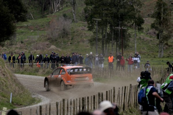 2007 FIA World Rally Champs. Round 11Rally New Zeland, 31st  August - 2nd  September 2007Henning Solberg, Ford, actionWorld Copyright: McKlein/LAT