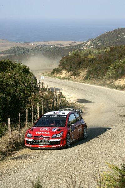 2007 FIA World Rally ChampionshipRound 13Rally of France, Tour de Course 200711-14 October 2007Sebastien Loeb, WRC Citroen, Action.Worldwide Copyright: McKlein/LAT