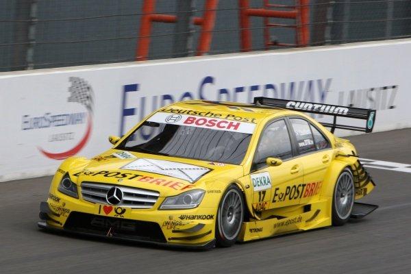 David Coulthard (GBR), Deutsche Post AMG Mercedes.DTM, Rd4, Eurospeedway Lausitz, Germany, 18-19 June 2011.