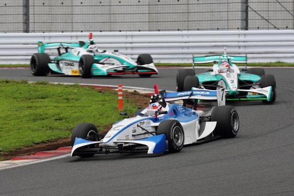 Fuji Speedway, Japan. 15th July 2012.3rd position Kazuya Oshima ( #7 Team LeMans ), action.World Copyright: Yasushi Ishihara/LAT Photographicref: Digital Image 2012FN_Rd4_012