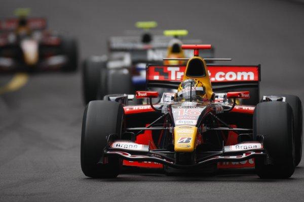 2008 GP2 Series. Round 3. Friday Race. Monte-Carlo, Monaco. 24th May 2008.Yelmer Buurman (NED, Trust Team Arden). Action. World Copyright: Glenn Dunbar/GP2 Series Media Service.ref:__O9T8957 jpg