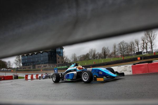 2016 BRDC British Formula 3 Championship, Brands Hatch, Kent. 16th - 17th April 2016. Jan Jonck (DEN) Sean Walkinshaw Racing BRDC F3. World Copyright: Ebrey / LAT Photographic.