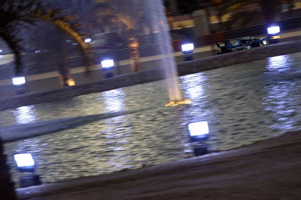 2015 FIA World Endurance Championship, Bahrain International Circuit, Bahrain. 19th - 21st November 2015. Matthew Howson / Richard Bradley / Nick Tandy KCMG Oreca 05 Nissan World Copyright: Jakob Ebrey / LAT Photographic.