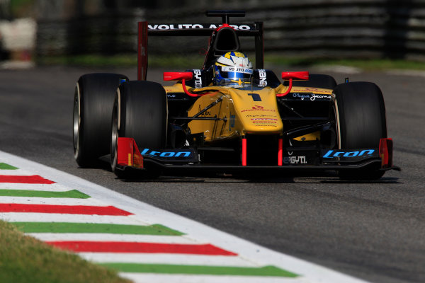 2013 GP2 Series. Round 9.  Autodromo di Monza, Monza, Italy. 6th September.  Friday Qualifying.  Marcus Ericsson (SWE, Dams). Action.  World Copyright: Charles Coates/GP2 Media Service. ref: Digital Image _X5J6582.jpg