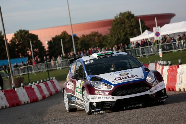 2013 FIA World Rally Championship Round 11-Rally de France 03-06/9 2013. Elfyn Evans, Ford, Action  Worldwide Copyright: McKlein/LAT