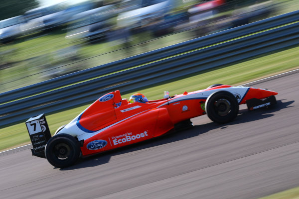 2017 British F4 Championship, Thruxton, 6th-7th May 2017,  Alex Quinn (GBR) TRS Arden British  World copyright. JEP/LAT Images