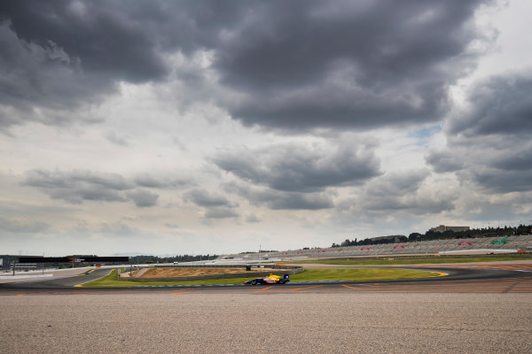2016 GP3 Series Test 3. Circuit Ricardo Tormo, Valencia, Spain. Wednesday 26 April 2017. Giuliano Alesi (FRA, Trident)  Photo: Zak Mauger/GP3 Series Media Service. ref: Digital Image _56I6402
