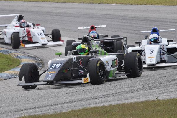 2017 F4 US Championship Rounds 1-2-3 Homestead-Miami Speedway, Homestead, FL USA Sunday 9 April 2017 #39 Justin Sirgany World Copyright: Dan R. Boyd/LAT Images