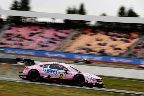 2017 DTM Round 1 Hockenheim, Germany. Sunday 7 May 2017. Lucas Auer, Mercedes-AMG Team HWA, Mercedes-AMG C63 DTM World Copyright: Alexander Trienitz/LAT Images ref: Digital Image 2017-DTM-R1-HH-AT2-1984