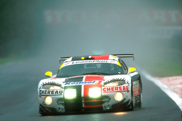 2001 Spa Francorchamps 24HoursSpa-Francorchamps, Belgium. 6th - 7th August 2001.The race winning Larbre Competition , Chrylser Viper GTS-R, of Duez, Bouchut and Belloc, in action.World Copyright: Peter Fox/LAT Photographic ref: Digital Image Only