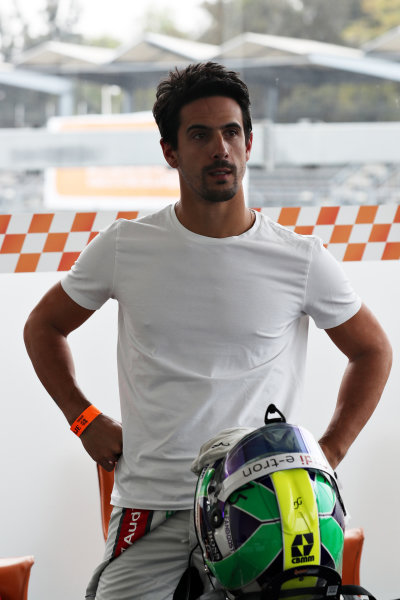 Lucas di Grassi (BRA) prepares to drive