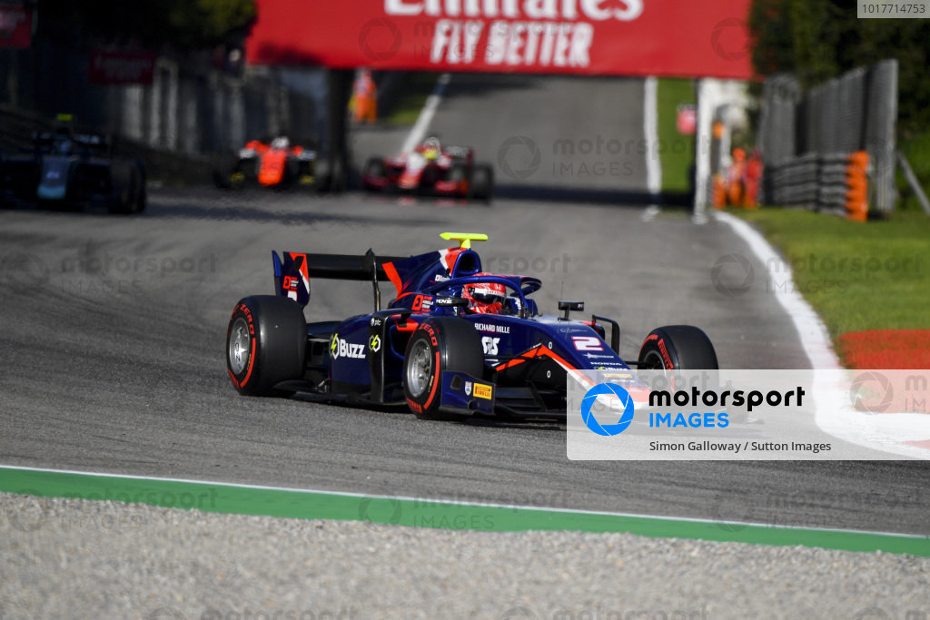 AUTODROMO NAZIONALE MONZA, ITALY - SEPTEMBER 07: Nobuharu Matsushita (JPN, CARLIN) during the Monza at Autodromo Nazionale Monza on September 07, 2019 in Autodromo Nazionale Monza, Italy. (Photo by Simon Galloway / LAT Images / FIA F2 Championship)