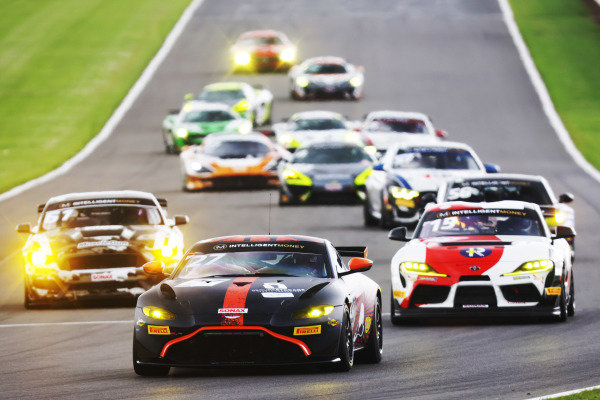 Matt Topham / Darren Burke - Newbridge Motorsport Aston Martin Vantage AMR GT4