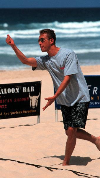 Greg MooreOn the beach in Surfers Paradise, 1998-1999, Michael L. Levitt, USALAT PHOTOGRAPHIC