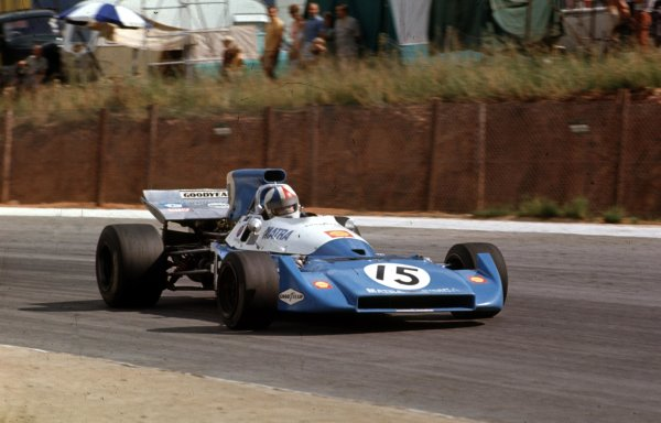 1972 South African Grand Prix.Kyalami, South Africa.2-4 March 1972.Chris Amon (Matra-Simca MS120C) 15th position.Ref-72 SA 06.World Copyright - LAT Photographic