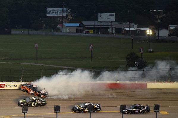 John H. Nemechek, Front Row Motorsports Ford SCAG, wrecks, Copyright: Jared C. Tilton/Getty Images.