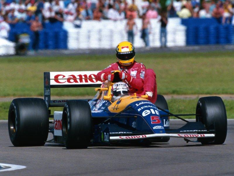 Taxi for Senna